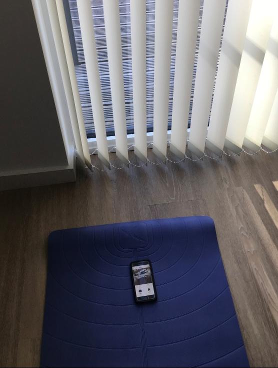 Tapis de Yogas et App